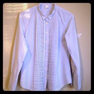 J. Crew women's blouse, long sleeves, striped